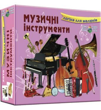 Лото Музыкальные инструменты