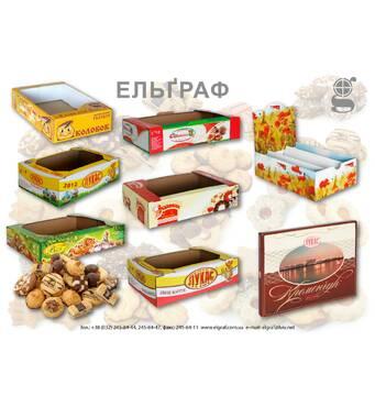 Гофролотки для печенья, кондитерских изделий и других сладостей