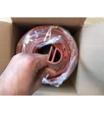 Уплотнитель силиконовый для дверей термокамер REXPOL