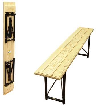 Скамейка складная рейка сосны (2000х300х460) мм.