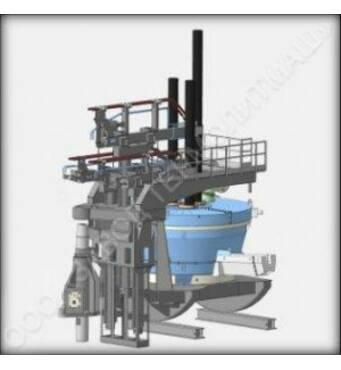 Дуговая сталеплавильная печь переменного тока ДСП 25 купить в Луцке