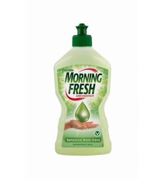 Засіб для миття посуду Morning Fresh Sensitive Aloe Vera, 900 мл