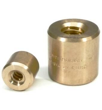 Трапецеидальная бронзовая гайка HBD Tr.24x5