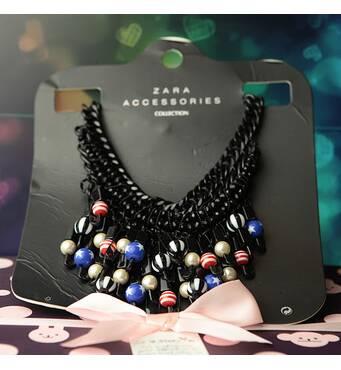 Женское ожерелье Zara (17389)