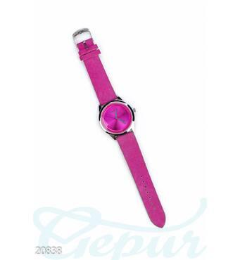 Яркие наручные часы (малиновый)