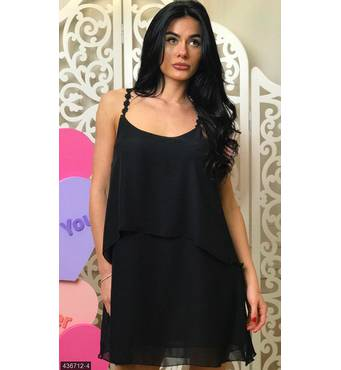 Платье 436712-4 черный