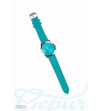 Яркие женские часы (бирюзовый)