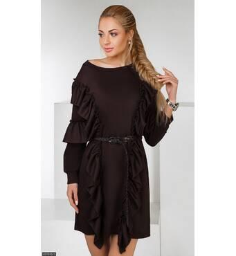 Платье 437845-5 шоколад Весна 2018 Украина