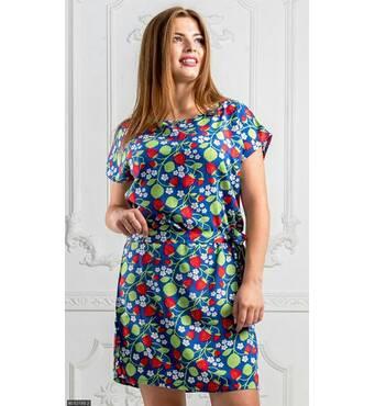 Платье 8512796-2 джинс Лето 2018 Украина