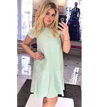 Платье 8511656-3 зеленый Лето 2017 Украина