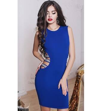 Платье 43762908-2 электрик Зима 2017 Украина