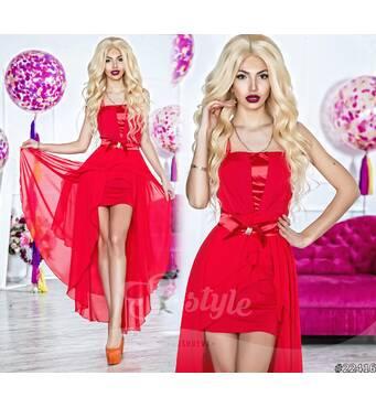 Платье 22416 (красный)