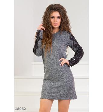 Женское платье 18062 твид