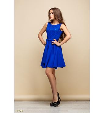 Женское платье Мирла электрик