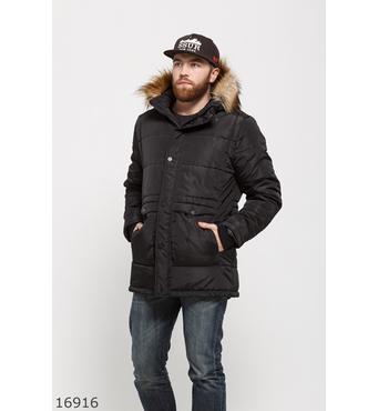 Мужская куртка 16916 черный