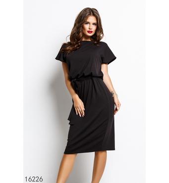 Женское платье 16226 черный