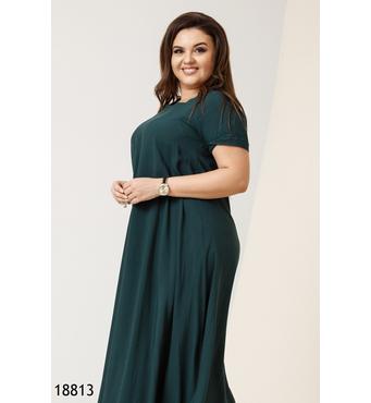 Женское платье 18813 зеленый