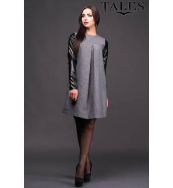 Платье из твида Malika (Серый)