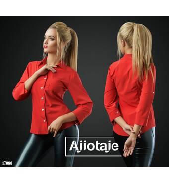 Рубашка - 17066 (красный)