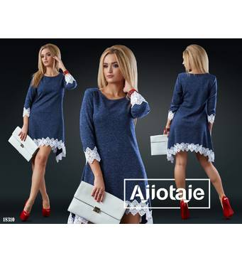 Платье - 18310 (синий)