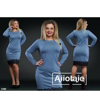 Платье - 17809 (серый)