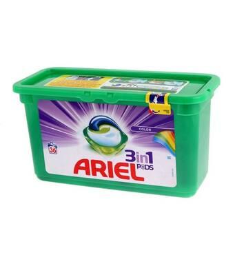 Капсулы для стирки Ariel Power Capsules Color&Style 36шт