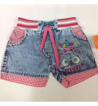 Дитячі шорти для дівчинки оптом 1-4 роки