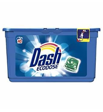 Капсулы для универсального стирки Dash Ecodose 40 шт