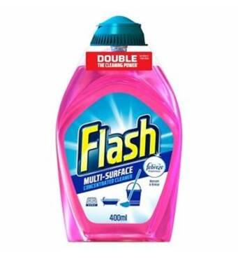 Средство для мытья универсальный концентрированный Flash Multi-surface Concentrated 400 мл, Великобритания