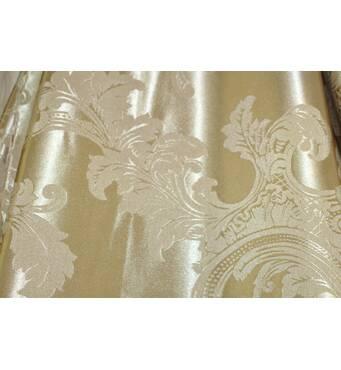 Шторы ткань в спальню золотая корона глянец купить в Чернигове