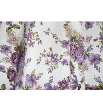 Тканина для штор квіти купити в Хмельницькому