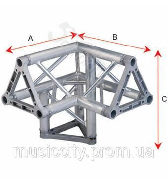 SoundKing SKDKC 2203I алюминиевый уголок, треугольник