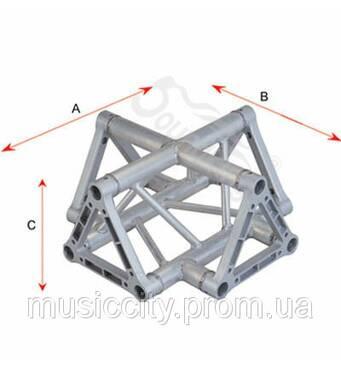 SoundKing SKDKC 2203t алюмінієвий куточок, трикутник