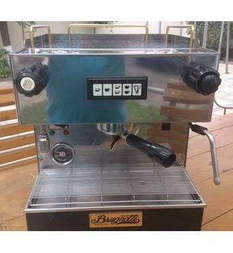 Кавова машина, кавоварка професійна Brugnetti, модель «С», 1 група