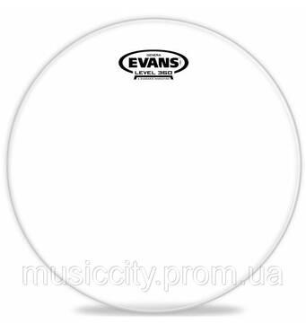 "Evans TT18G1 Genera прозорий пластик 18"""