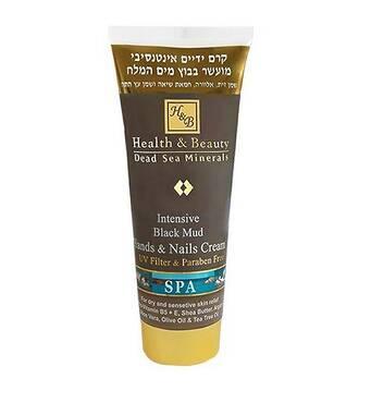 Інтенсивний крем для рук і нігтів на основі грязі Мертвого моря Health & Beauty Intensive Dlack Mud Hands & Nails Cream