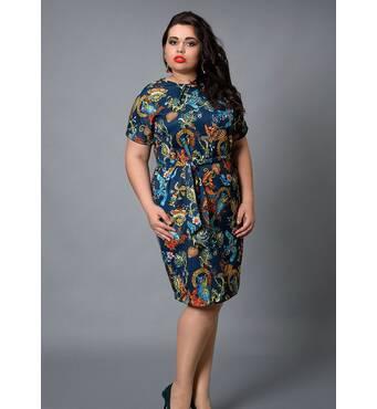 Жіноча сукня  великий розмір