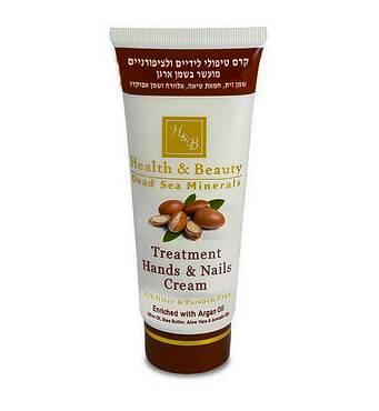 Мультивитаминный крем для рук с маслом аргана Health & Beauty Hand and Nail Cream with argan oil