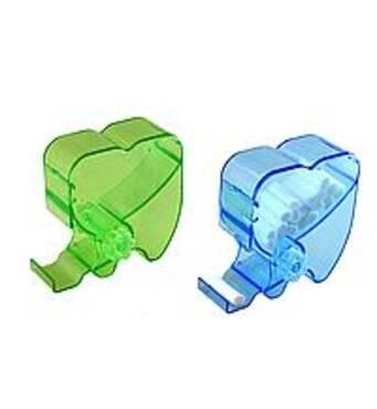 Диспенсер для валиків в формі зуба