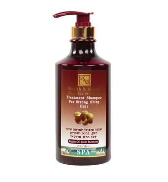 Лечебный шампунь для блеска волос с аргановым маслом Health & Beauty Argan Treatment 780 мл.