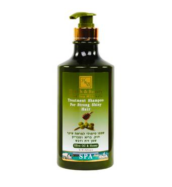Лікувальний шампунь для блиску волосся з оливковою олією і медом Health & Beauty Olive Oil & Honey Shampoo for Strong Shiny Hair 780 мл