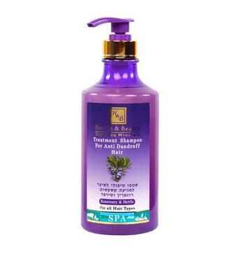 Лікувальний шампунь від лупи з розмарином і кропивою Health & Beauty Rosemary & Nettle Shampoo for Anti Dandruff Hair 780 мл.