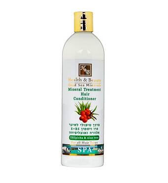 Кондиціонер на основі мінералів Мертвого моря Health & Beauty Mineral Treatment Hair Conditioner 400 мл.