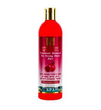 Лечебный шампунь для здоровья и блеска волос с экстрактом граната 400 мл.
