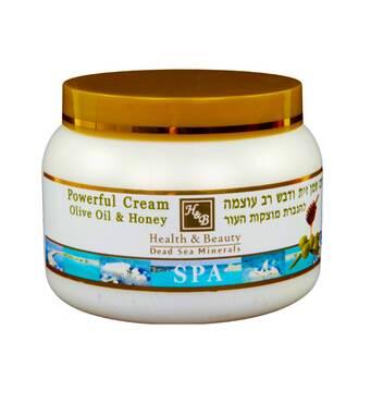Інтенсивний крем для тіла на основі оливкової олії і меду Health & Beauty Powerful Cream Olive Oil & Honey 250 мл