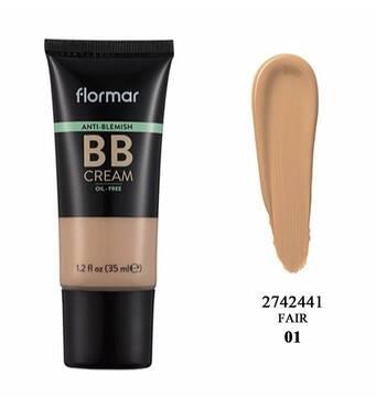 ВВ крем для проблемной кожи ANTI BLEMISH BB CREAM-AB02 FAIR/LIGHT, 35 мл