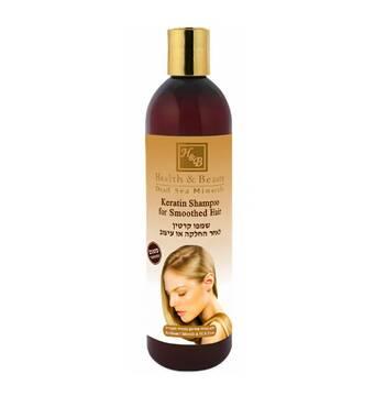 Шампунь с кератином для волос после термического воздействия Health & Beauty Keratin Shampoo 400 мл.