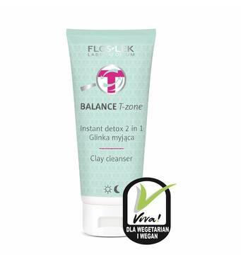 Детокс средство 2 в 1 с глиной для очищения лица BALANCE T-zone Instant Detox 2 in 1 Clay cleanser, 125 мл