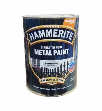 Краска «Hammerite» белая полуматовая 2,5л.