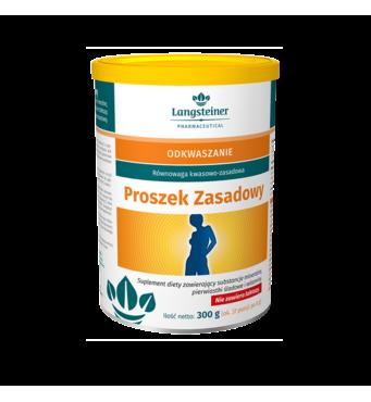 """Дієтична добавка для регулювання кислотно-лужного балансу """"Proszek Zasadowy"""", 300 гр"""